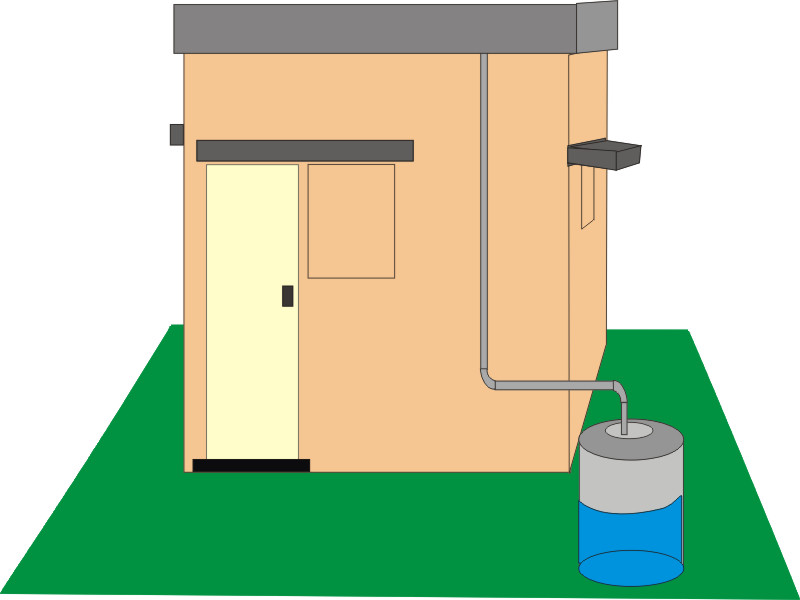 Kscst Rooftop Rainwater Harvesting